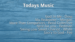 Songs From Sunday Aug 2